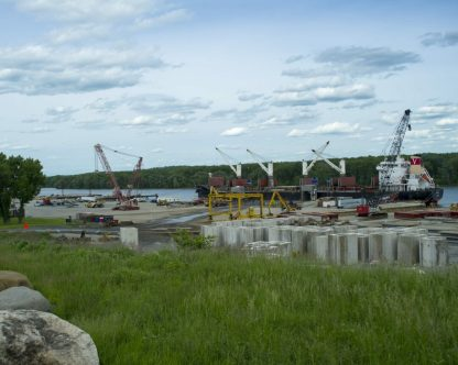 Port of Coeymans on June 4.