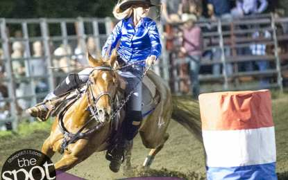 SPOTTED: Double M Professional Rodeo – A midsummer night of speed