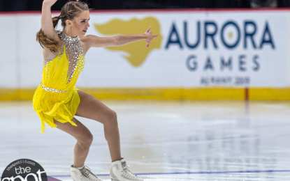 SPOTTED: Figure skating at the Aurora Games