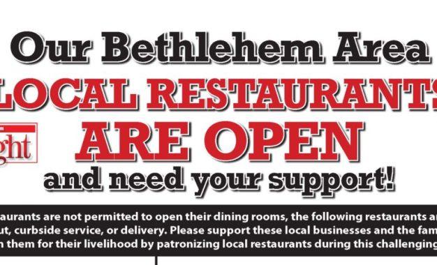 The Spotlight area restaurant list: March 27, 2020 daily edition