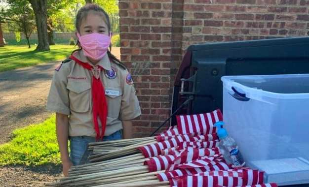 Delmar BSA Troop 75 honors fallen veterans with flags (w/photos)