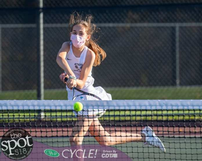 SPOTTED: Bethlehem girls tennis remains undefeated