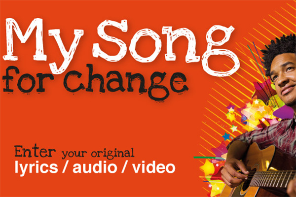 My Song For Change contest
