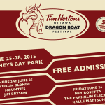 Ottawa Dragon Boat Festival announces its FREE concert lineup for 2015