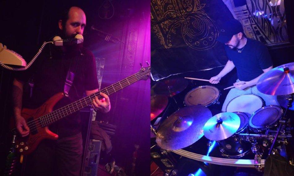 Richard Michel & Chris Davidson at McCloskeys 2015-04-04 [photographer unknown]