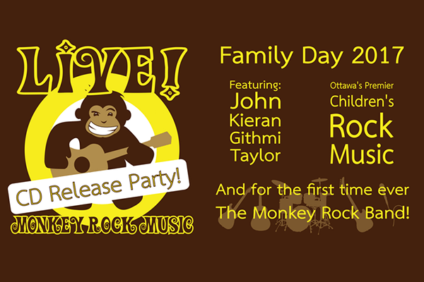 Monkey Rock Music Family Day Concert