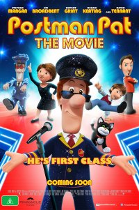 Poster for 2014 animated comedy Postman Pat: The Movie