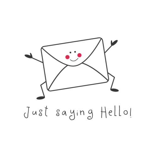 Just saying hello, a random act of mail