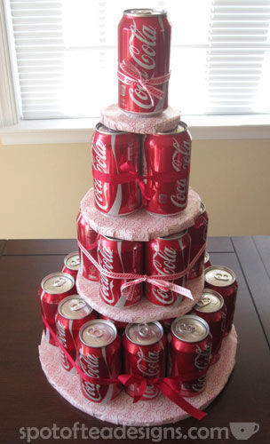 How to make a soda can cake tutorial | spotofteadesigns.com