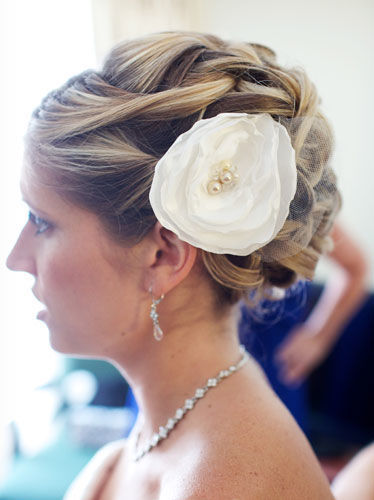 DIY Wedding Hairpiece