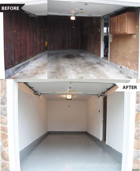 Garage makeover   spotofteadesigns.com