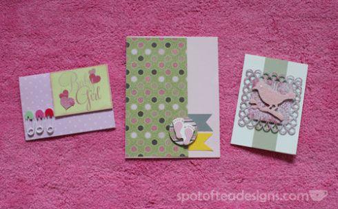Handmade Baby Shower Cards | spotofteadesigns.com
