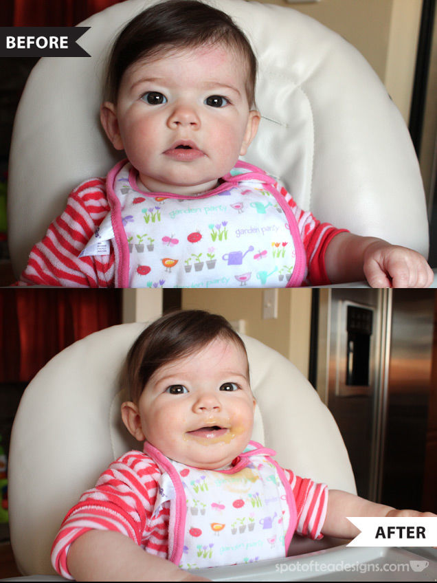 Brielle sampling Happy Baby Organic Food Pouches | spotofteadesigns.com