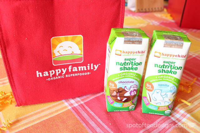 Happy Family Organic Super Nutrition Shake Review | spotofteadesigns.com