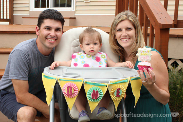 Pinwheel first #birthdayparty - cookie pop cupcake topper| spotofteadesigns.com