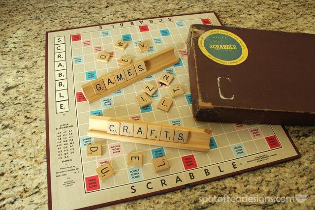 Scrabble Tiles | spotofteadesigns.com