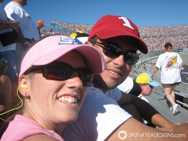 A walk down memory lane of past @Nascar races we've attended | spotofteadesigns.com