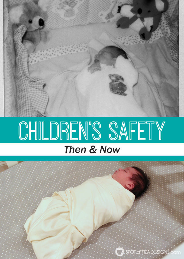 Childhood safety then & now | spotofteadesigns.com