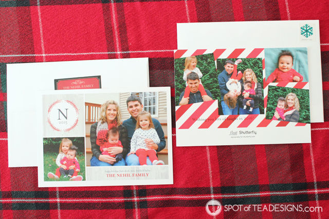 Our 2015 Christmas Cards From Shutterfly And Tiny Prints