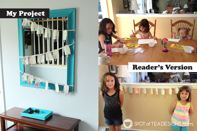 2015 spotofteadesigns.com reader's feature - popscicle stick garland