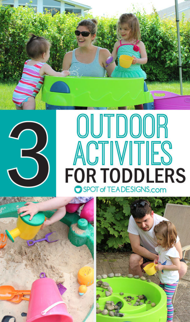 3 Fun Outdoor Activities for Toddlers this summer #ad #TopYourSummer #SoHoppinGood  spotofteadesigns.com