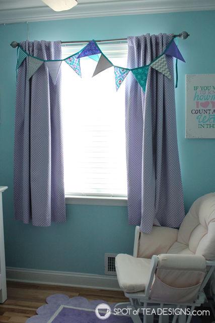 Handmade gift feature - fabric pennant bunting | spotofteadesigns.com