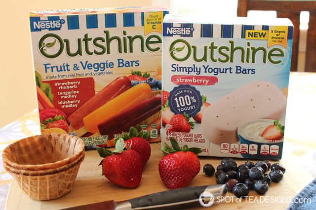 Less mess solution for summer snacks for toddlers - Waffle Bowls! #SnackBrighter #Cbias #ad | spotofteadesigns.com