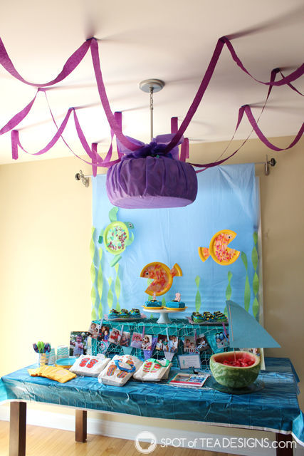 Under the sea #birthdayparty dessert table | spotofteadesigns.com