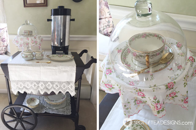 Tea for Two 2nd Birthday Party - tea station | spotofteadesigns.com