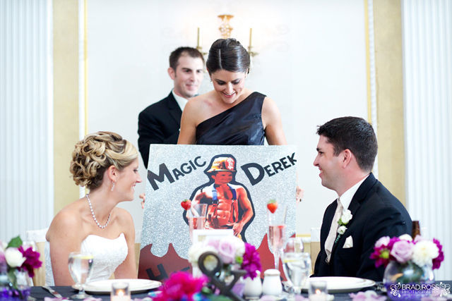 Spotofteadesigns.com Wedding, photographed by Brad Ross Photography - best man's speech