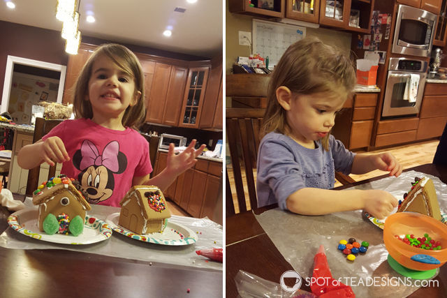 7 lessons learned from our first gingerbread house kit experience   spotofteadesigns.com