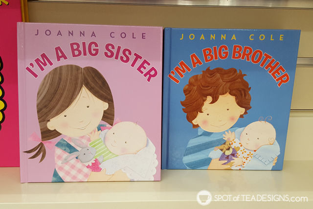 Book recommendations for Big Brothers and Big sisters, great gift idea when a new baby arrives   spotofteadesigns.com