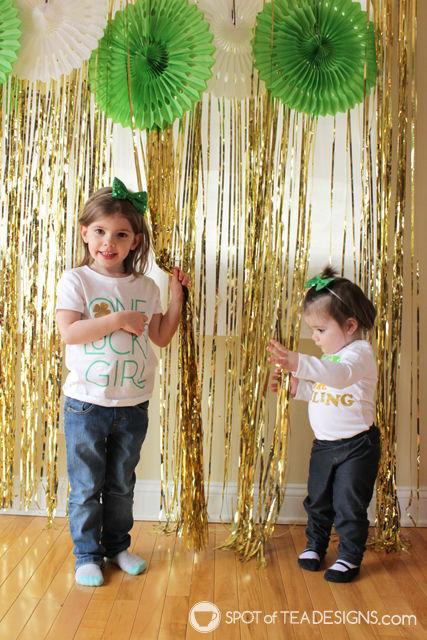 St Patricks Day Toddler Photoshoot   spotofteadesigns.com