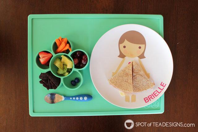 3 hands on activities for toddlers featuring an EZPZ Flower play mat   spotofteadesigns.com