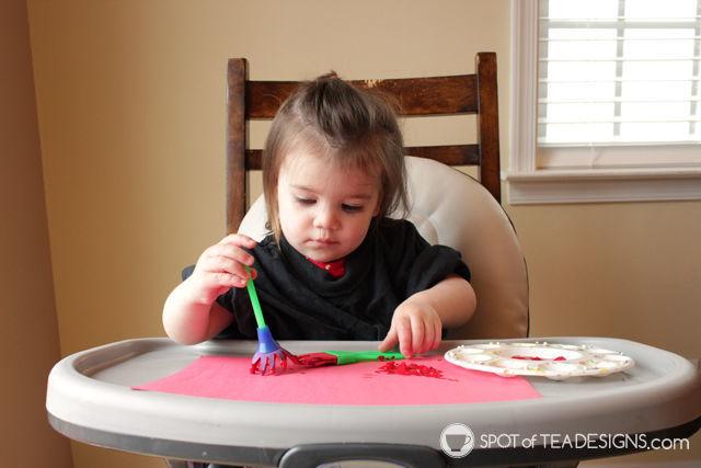 super simple teacher appreciation card kids craft | spotofteadesigns.com
