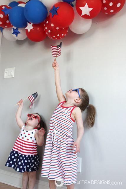 Patriotic Toddler Photoshoot   spotofteadesigns.com