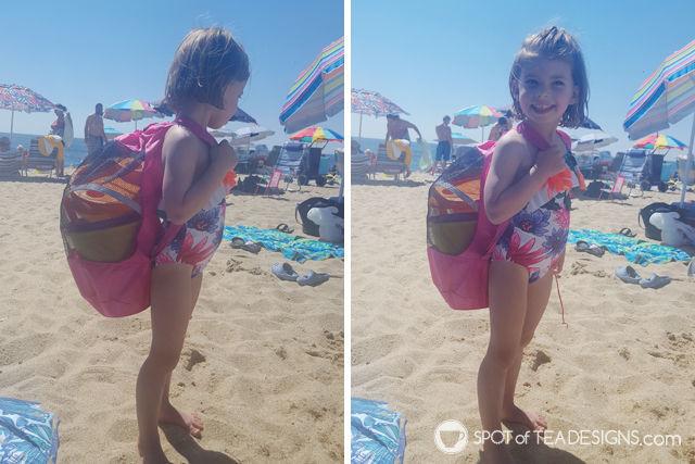 Toddler Mom Advice: Beach Packing List | spotofteadesigns.com