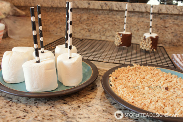 Rocky Road Marshmallow Pops | spotofteadesigns.com