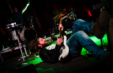 The Eclectic Moniker are playing for the first time in Austria (Photo: Allan Henriksen)
