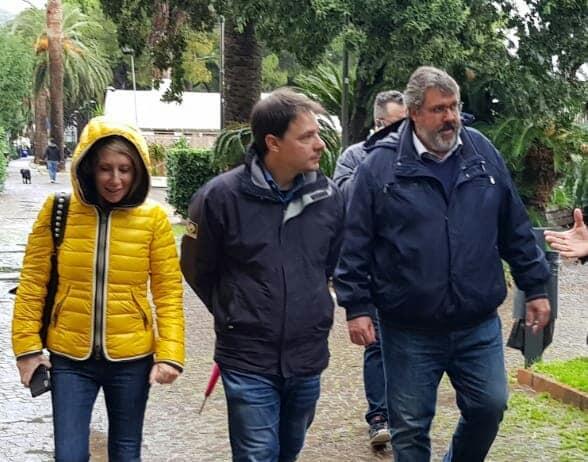 """Vaccarezza visita Spotorno:""""Servono fondi per ripartire"""""""