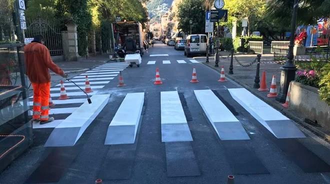 Sicurezza stradale, l'ottima idea da cui prendere spunto arriva da Alassio