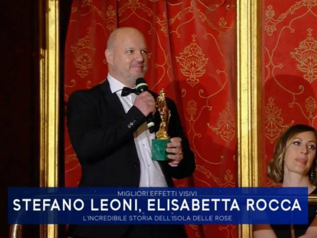 Dopo il David un ritorno alle origini: Stefano Leoni in visita a Spotorno