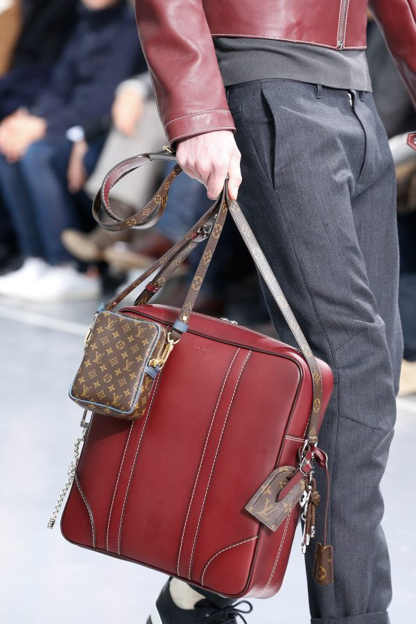 Louis Vuitton Men's Fall / Winter 2015 Runway Bags ...