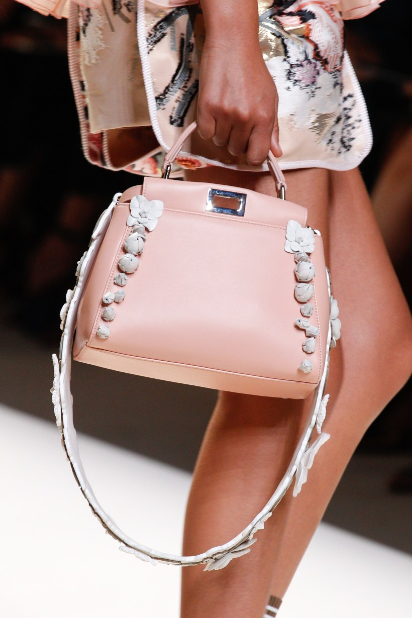 ad2a1aa05d Fendi Spring Summer 2017 Runway Bag Collection Spotted Fashion
