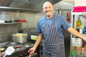 Graham Mawe - Masterchef at Veteran Breakfast