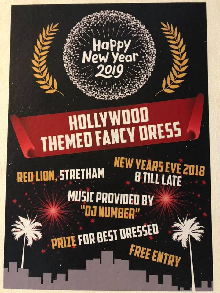 hollywood themed new year party