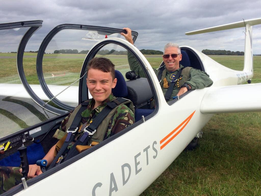 1094 Cadet Attends Flight Training School