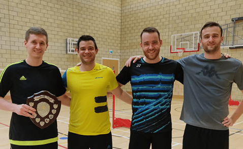 Tournament Results for Ely Victoria Badminton Club