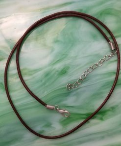 Brown Leather Cord with Extender