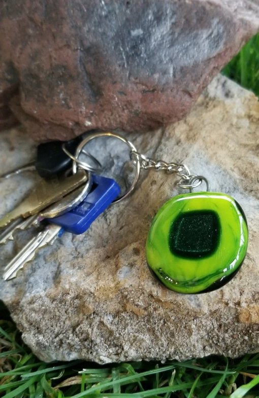 Green Aventurine Key chain